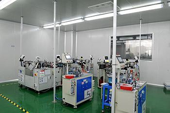港源电子生产车间设备