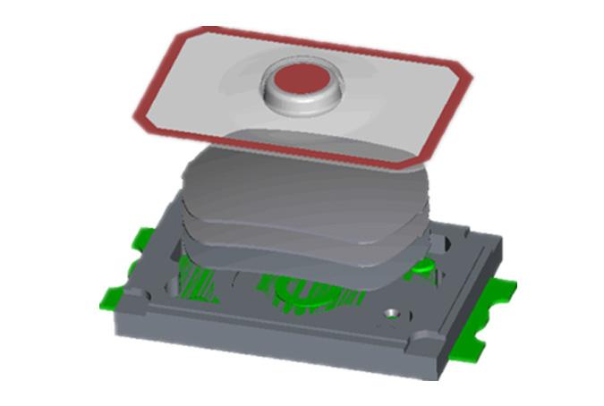 新品发布|  港源电子推出KAN2341轻按力的轻触开关
