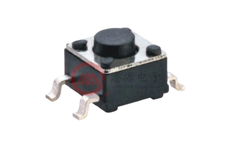 优质的插件/贴片轻触开关生产厂家-港源电子