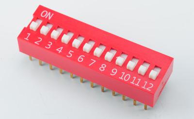 SHP贴片(2-8位)拨码开关