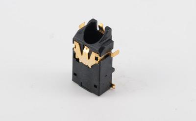 PJ-3558 超薄沉板SMT 2.5耳机插座