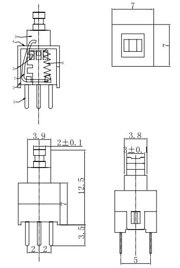 电路 电路图 电子 原理图 352_523 竖版 竖屏