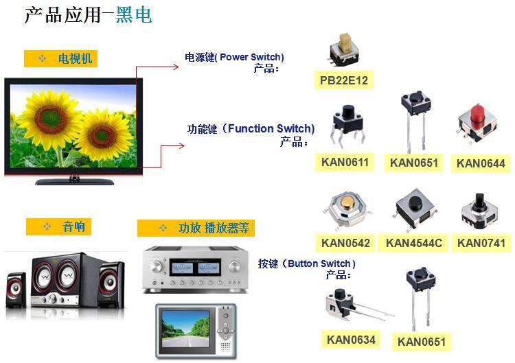 黑电行业-KAN0611 PB22E12应用案例