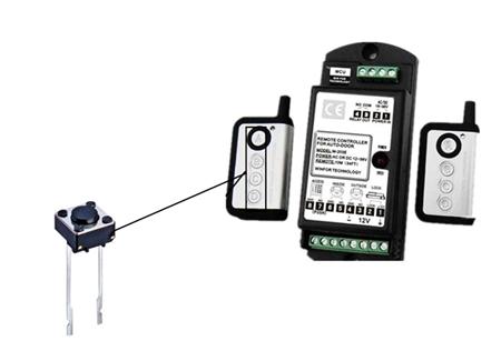 自动门遥控器-KAN0615应用案例