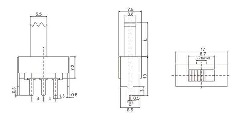 首页 港源实业发展产品中心 开关系列 ss12f08      基本参数/paramet