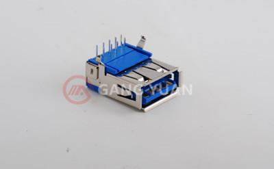USB3.0 AF弯脚90° 有卷边
