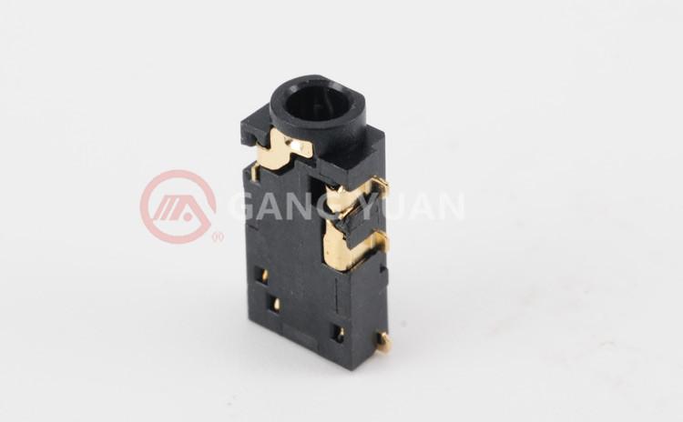 PJ-2537 SMT 2.5耳机插座